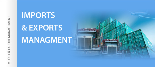 Export and Import Management, LC, Shipping and Customs