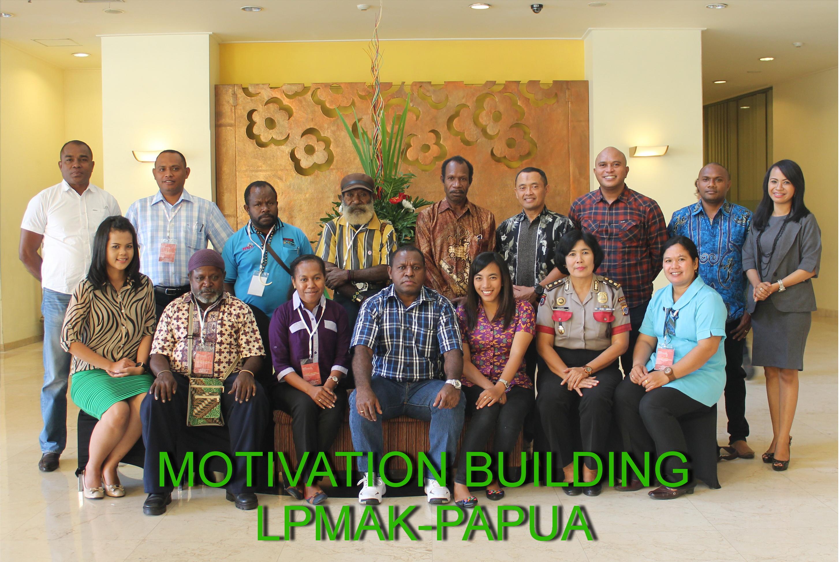 Motifasion building (LPMAK-Papua)